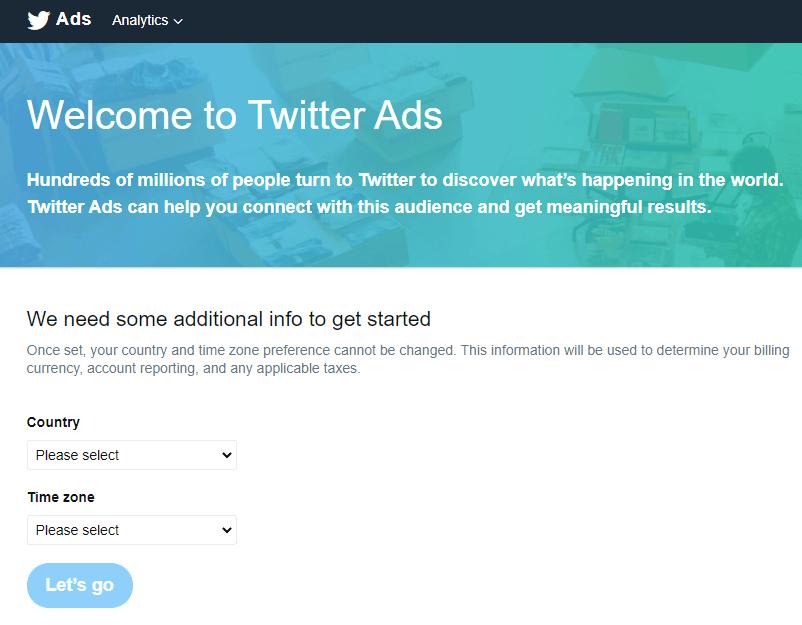 hacer publicidad en twitter ads